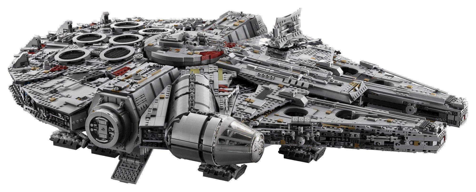LEGO Star Wars Millennium Falcon 75192 Building Kit (7541 Piece) by LEGO (Image #3)