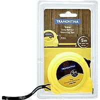 Tramontina 43166305, Trena Com Fita De Aço 5 Metros, Amarelo