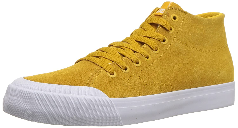 DC Men's Evan Smith HI Zero Skate Shoe 9.5 D D US Gold