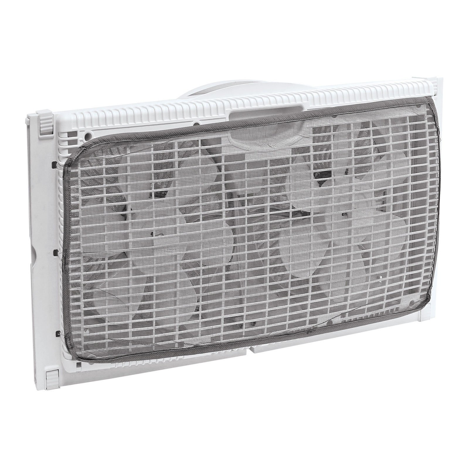 Portable Twin 9'' Reversible Window Fan with Remote Control