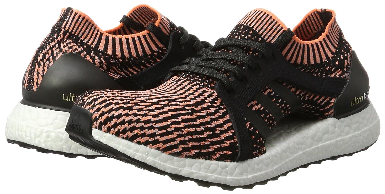 b48707d064654 Adidas Kadın Koşu Yürüyüş Ayakkabısı BA8278 UltraBOOST X Siyah Mavi Turuncu  38  Amazon.com.tr