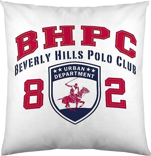 Beverly Hills Polo Club De Logo Funda de cojín, Algodón ...