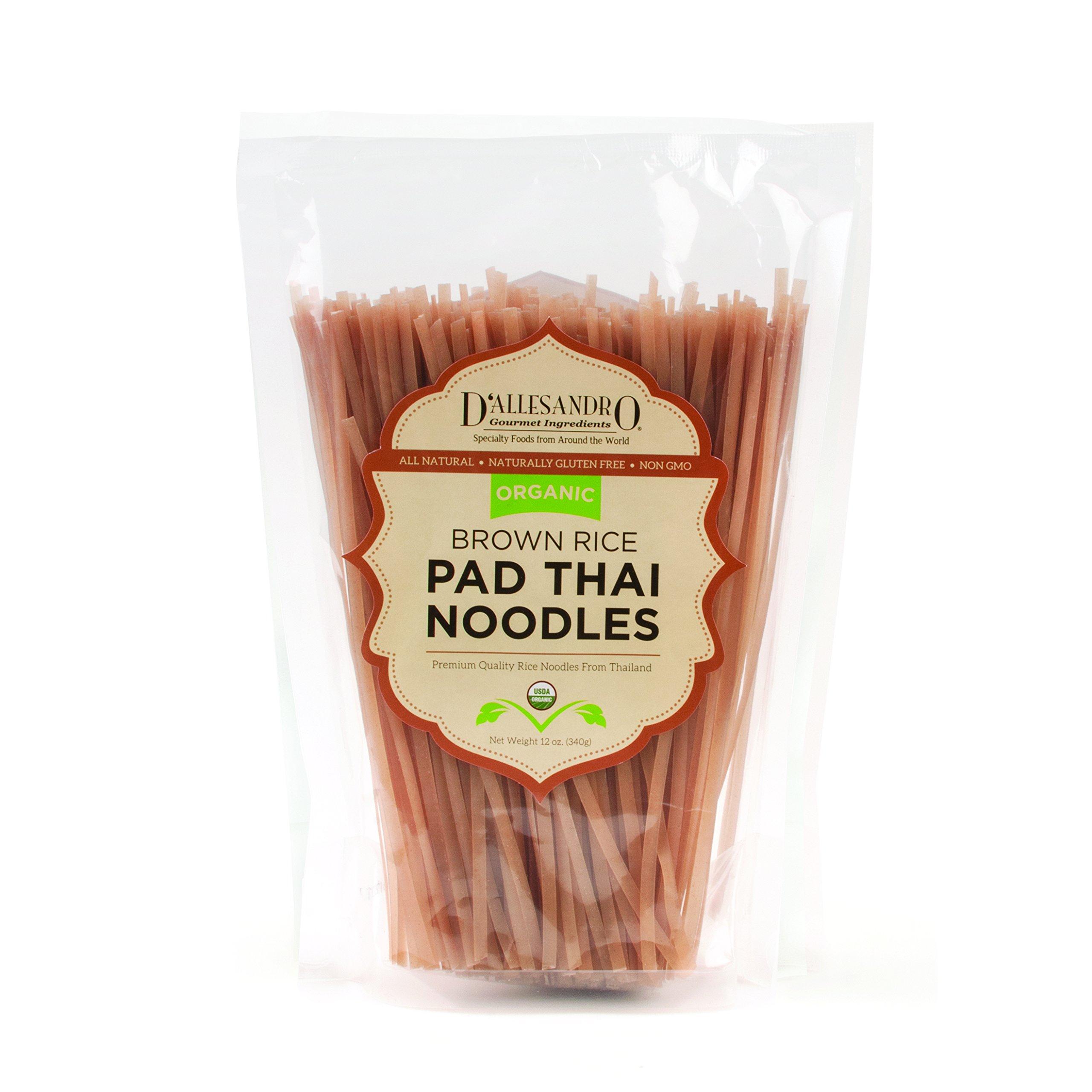 Organic Brown Rice Pad Thai Noodles, 20 / 12 Ounce Box Case