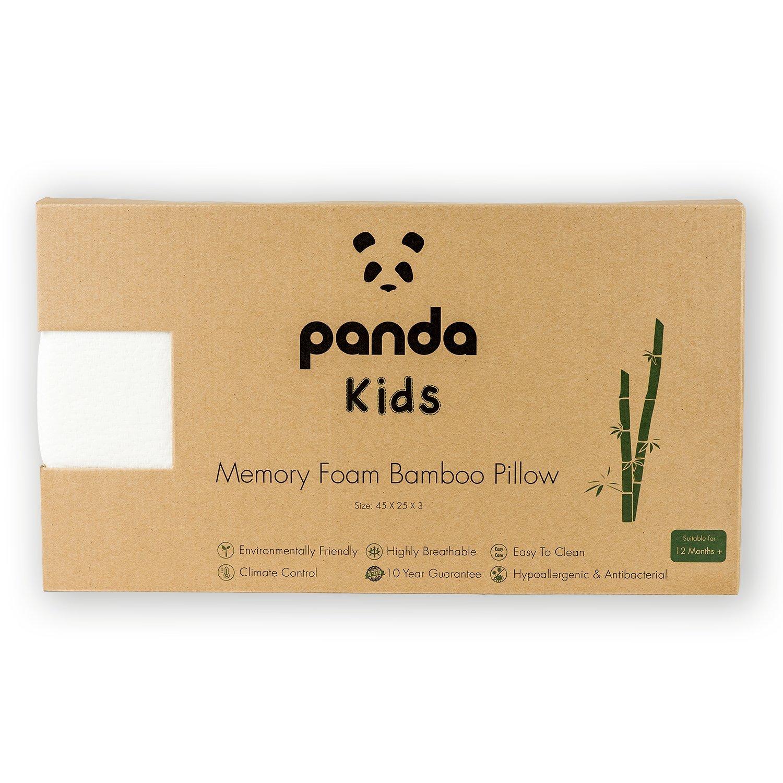 Nourrissons Oreiller Panda de Luxe en Mousse /à M/émoire de Forme /à base de Bambou pour Enfants