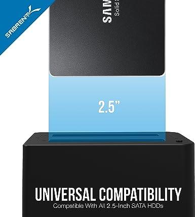 Sabrent USB 3.0 a SSD / 2.5 ″ Estación de acoplamiento de disco ...