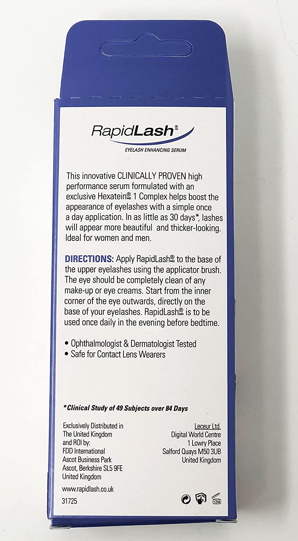 Rapidlash Eye Lash Enhancing Serum Amazon Beauty