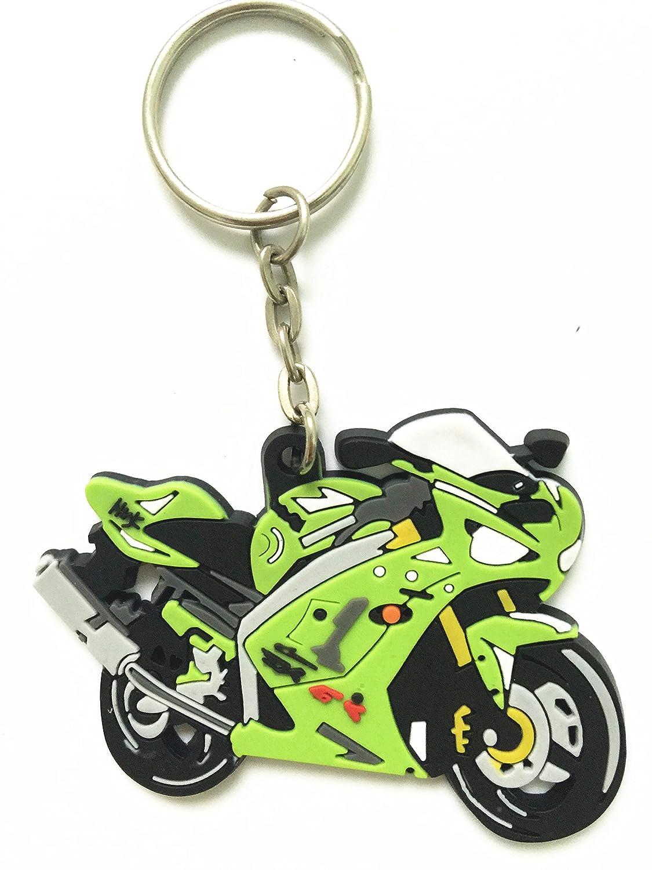 Amazon.com: Decal Story Lemon Green Rubber Logo Key Chain ...