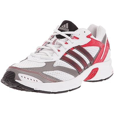 adidas Duramo 3 M Chaussures Course à pied Homme, Blanc Noir Rouge