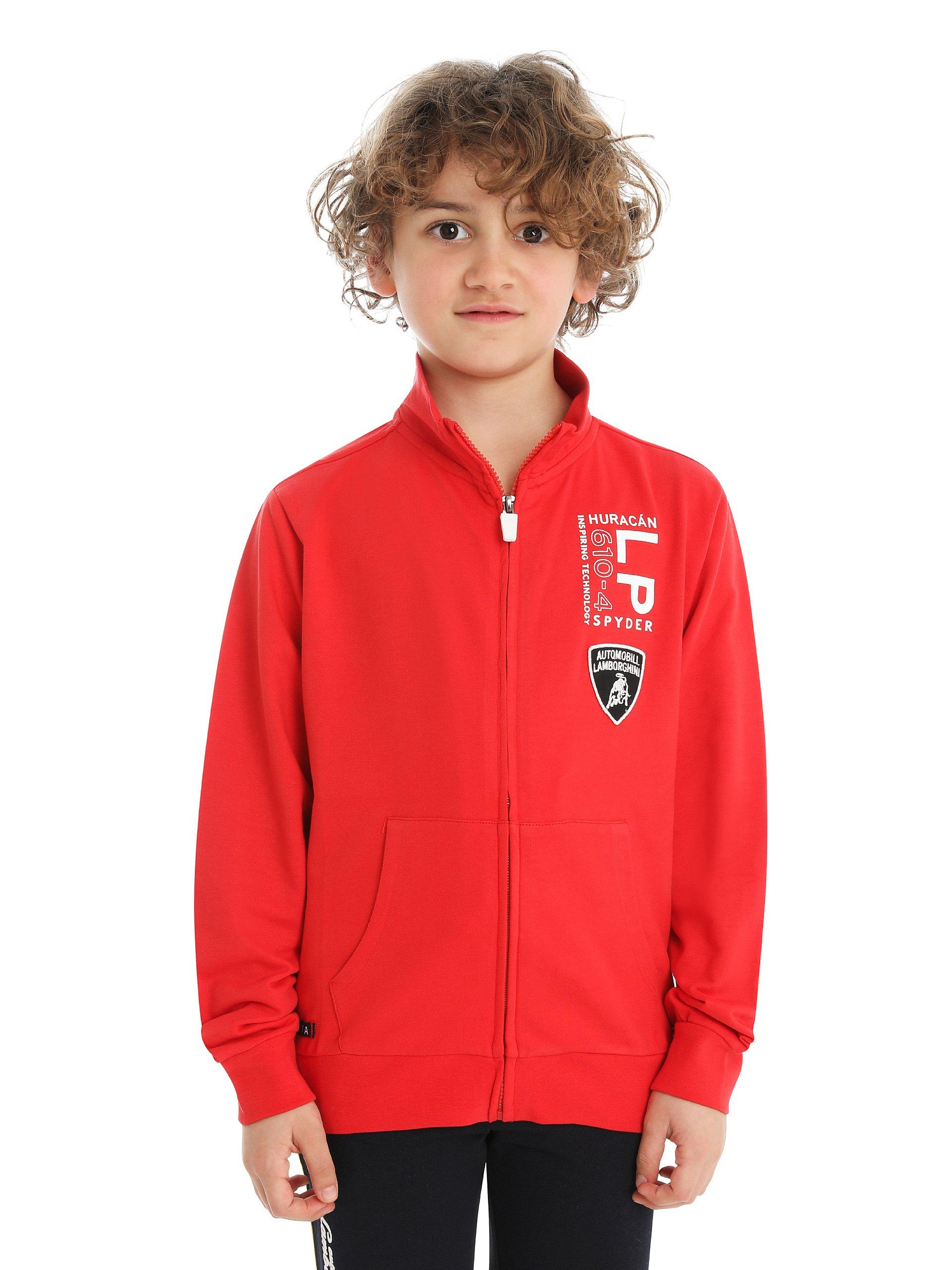 Automobili Lamborghini Children Kids Lamborghini Huracán Lp 610-4 Spyder Sweatshirt 6 Years Red