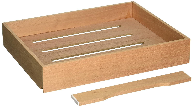 Quality Importers Spanish Cedar Tray Quality Importers Trading Co Inc. HUMI-TRAYDIS5/7
