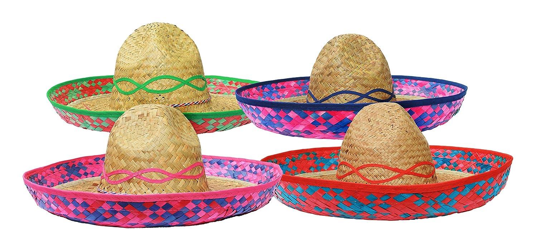 1aa63969c74d7 ILOVEFANCYDRESS - Sombrero mexicano de paja  Amazon.es  Juguetes y juegos