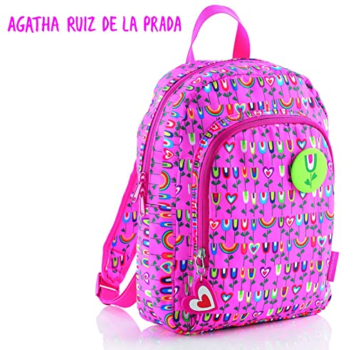 Agatha Ruiz De La Prada Mochila, 21 litros, Color Rosa: Amazon.es: Zapatos y complementos