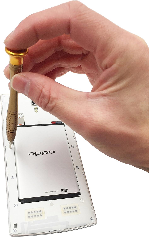 Llaves de coche MacBook Yiapinn HTC Destornillador peque/ño de precisi/ón para reparaci/ón electr/ónica profesional 25 en 1 Kit de herramientas para iPhone Series iPad LG Samsung