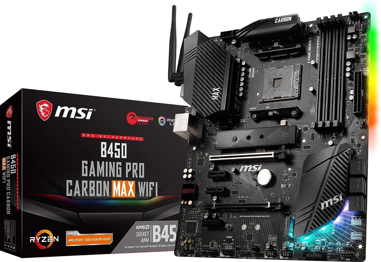 MSI B450 Gaming Pro Carbon MAX WiFi - Placa Base Performance Gaming