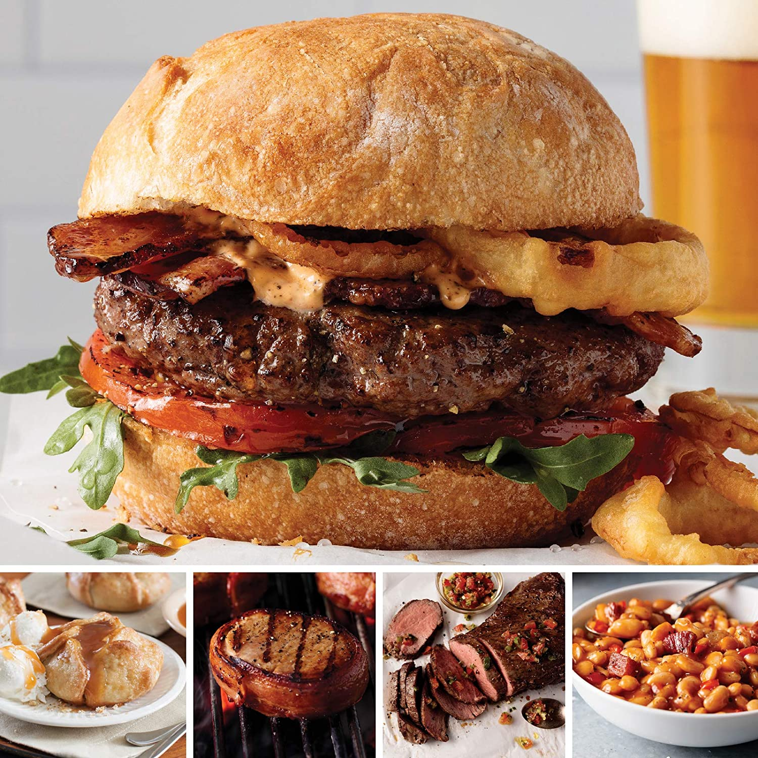 american steakhouse burgers