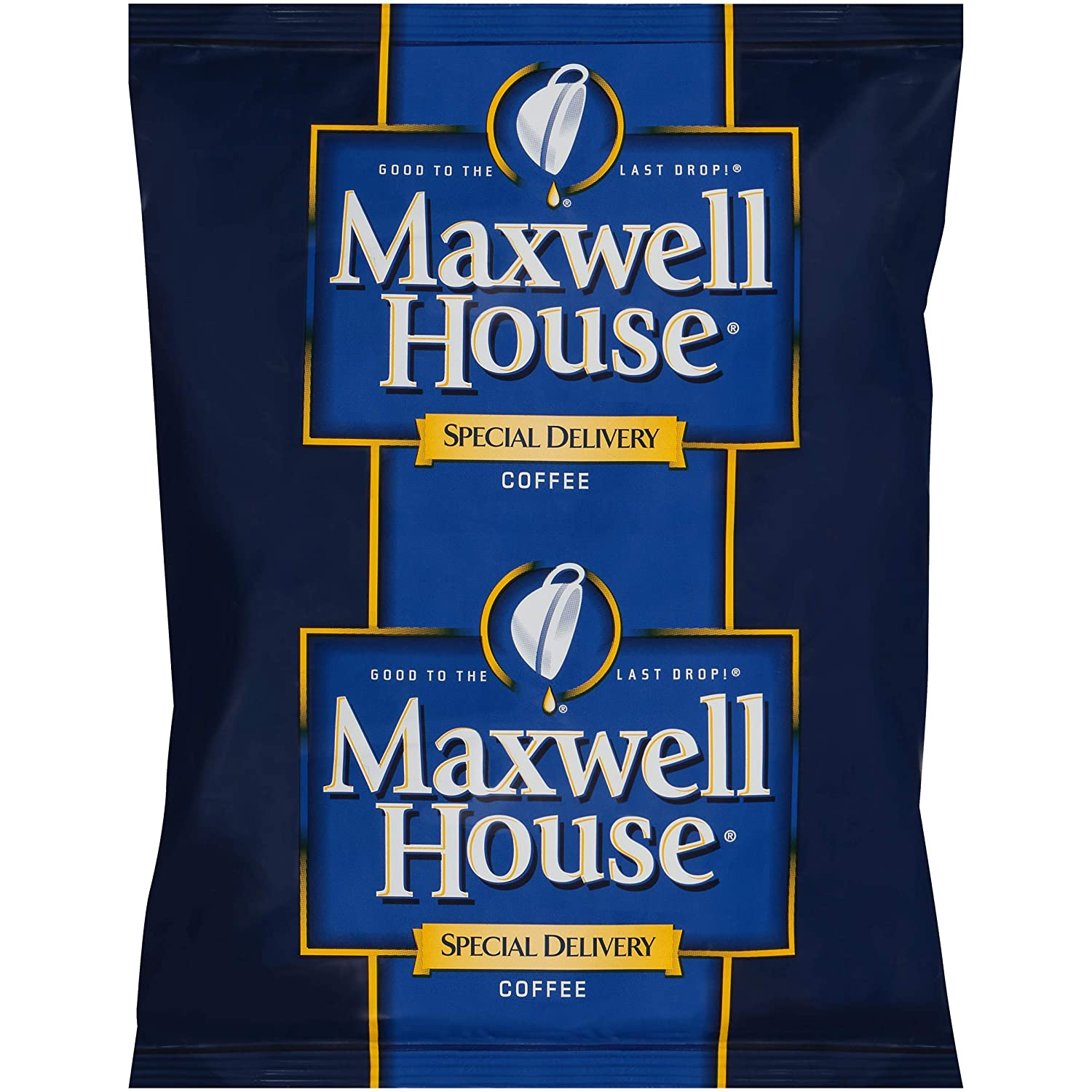 Maxwell House Special Delivery Coffee Single Serve (1.2oz Bags, Pack of 42)