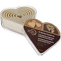 Mercer Culinary M35507 7-Piece Heart Plain Nylon Cutter Set
