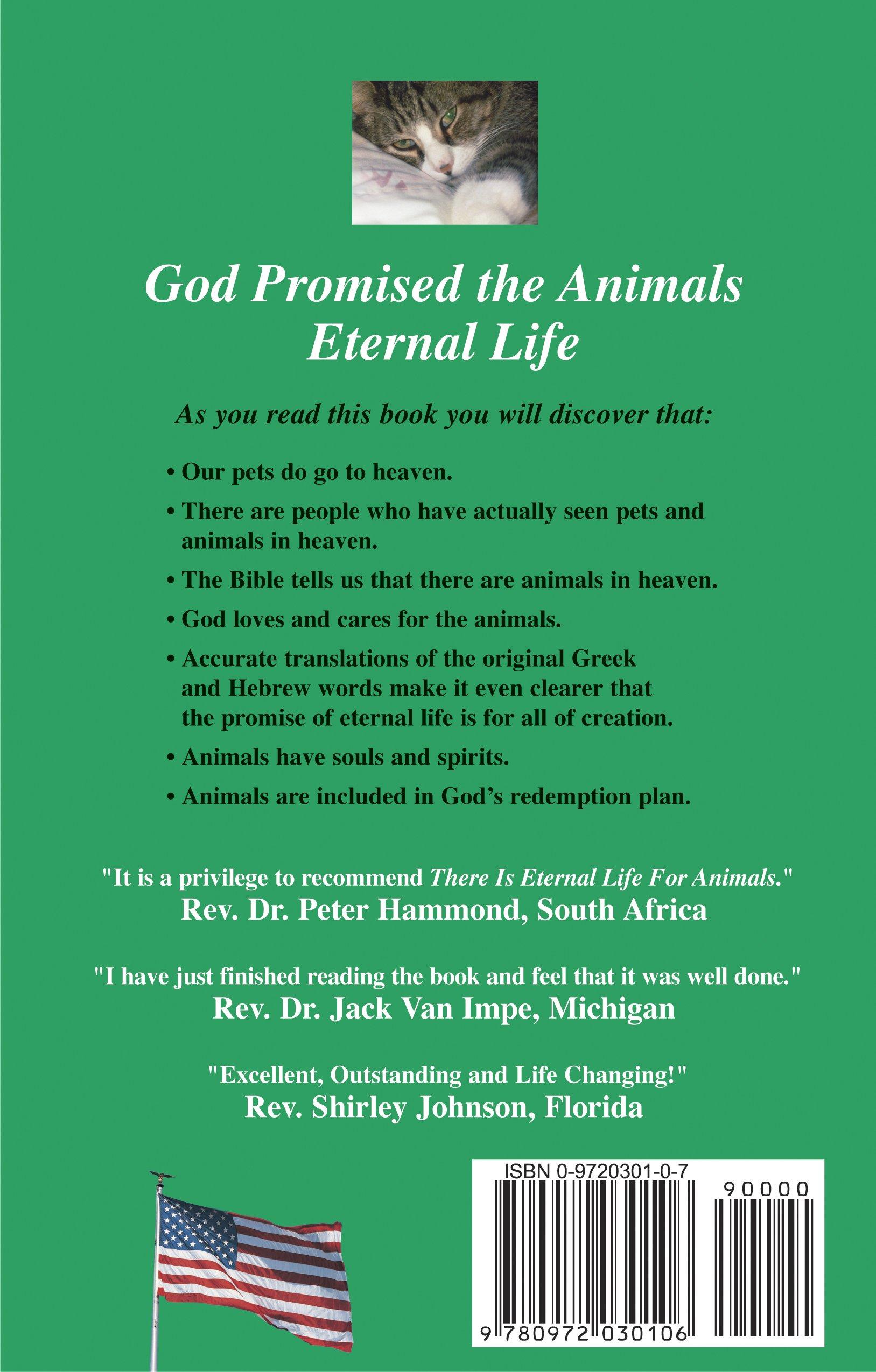 There is Eternal Life for Animals: Niki Behrikis Shanahan: 9780972030106:  Amazon.com: Books