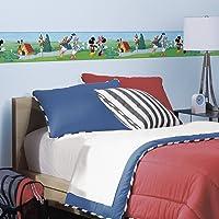 RoomMates Cenefa de Pared con diseño de Mickey