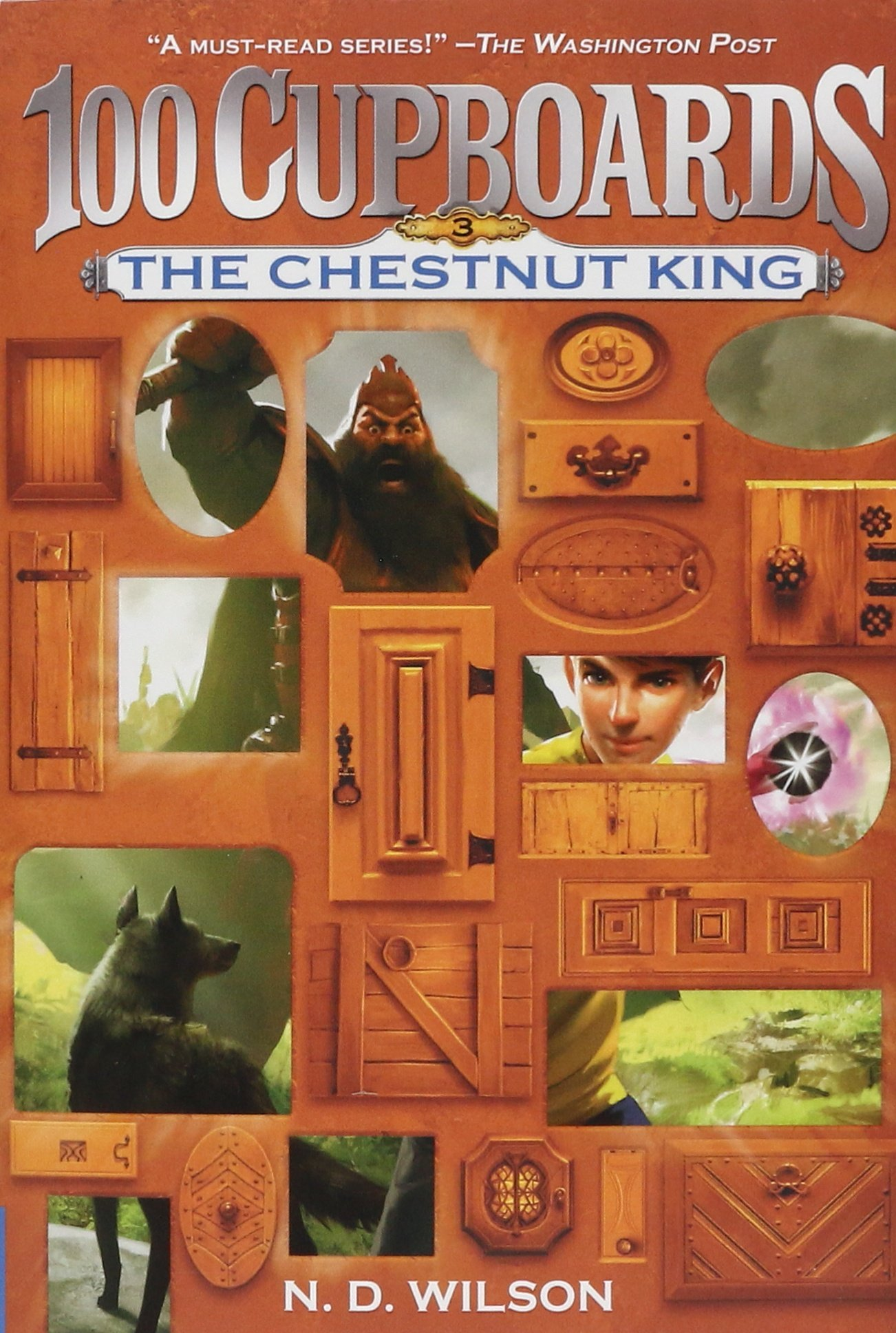 The Chestnut King (100 Cupboards Book 3) (the 100 Cupboards): N D Wilson:  9780375838866: Amazon: Books
