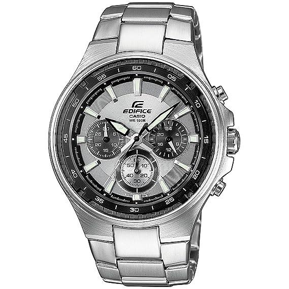 0ef53437828a CASIO EF562D7AVEF - Reloj de cuarzo con correa de acero inoxidable para  hombre