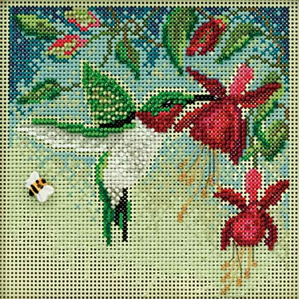 MILL HILL Buttons Beads Kit Counted Cross Stitch GOLDFINCH MH14-1712