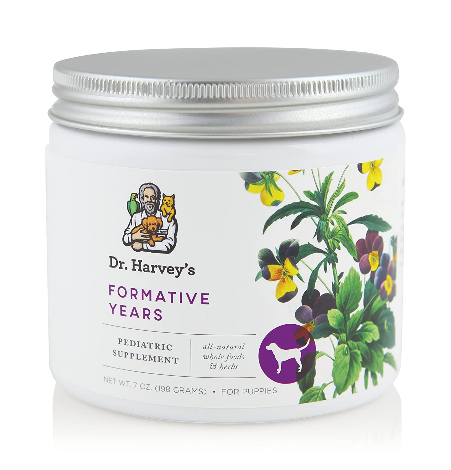 Dr. Harvey's 1 Piece Formative Years Herbal Supplement for Puppies, 7 oz