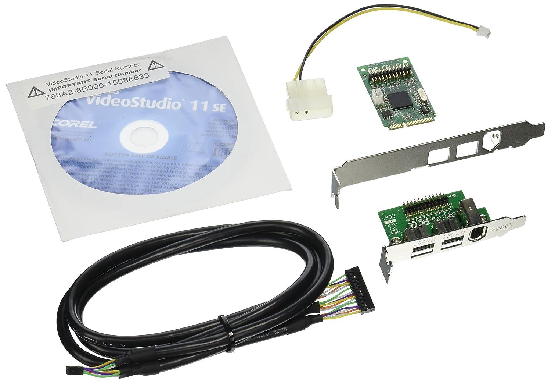 STARTECH MPEX1394B3 3 PORT 2B 1A 1394 MINI PCI EXPRESS: Amazon.co.uk ...