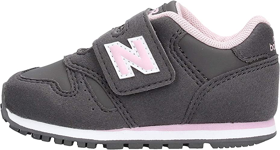 basket new balance grise et rose