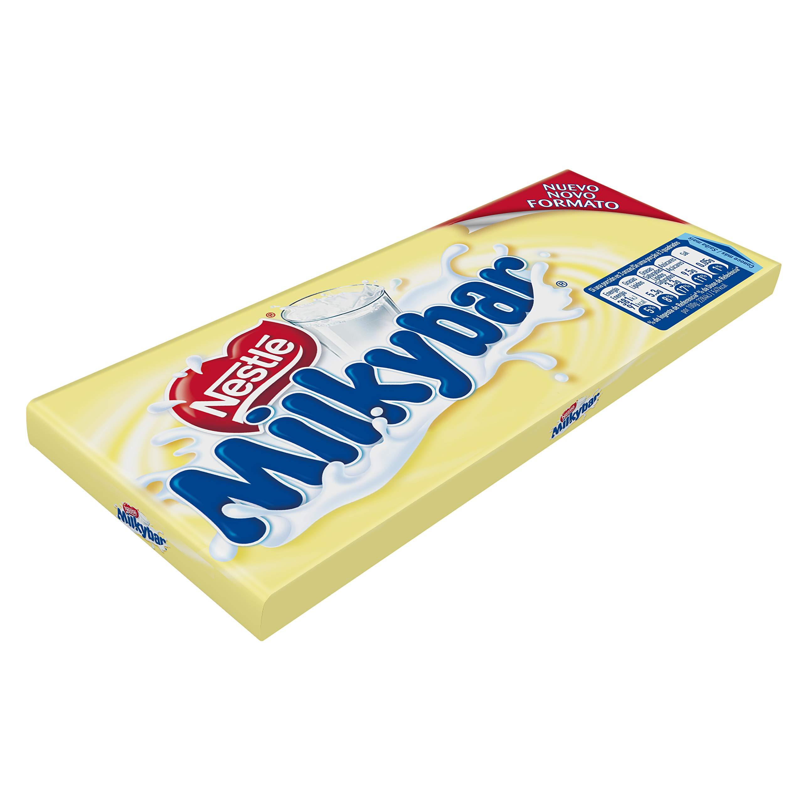 Nestlé Milkybar Chocolate Blanco - Tableta de chocolate blanco 20x100g