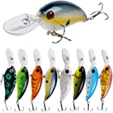 YONGZHI Fishing Lures Shallow Deep Diving Swimbait Crankbait Fishing Wobble Multi Jointed Hard Baits for Bass Trout…
