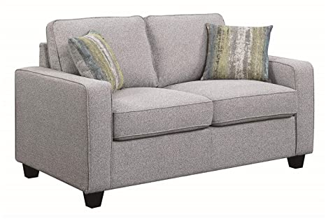 Scott Living 506532 Brownwood Loveseat, Grey