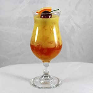 Realistic Food Replicas Wow! Gorgeous, Fake, Tequila Sunrise Drink Garnished w/an Orange Slice and Cherry