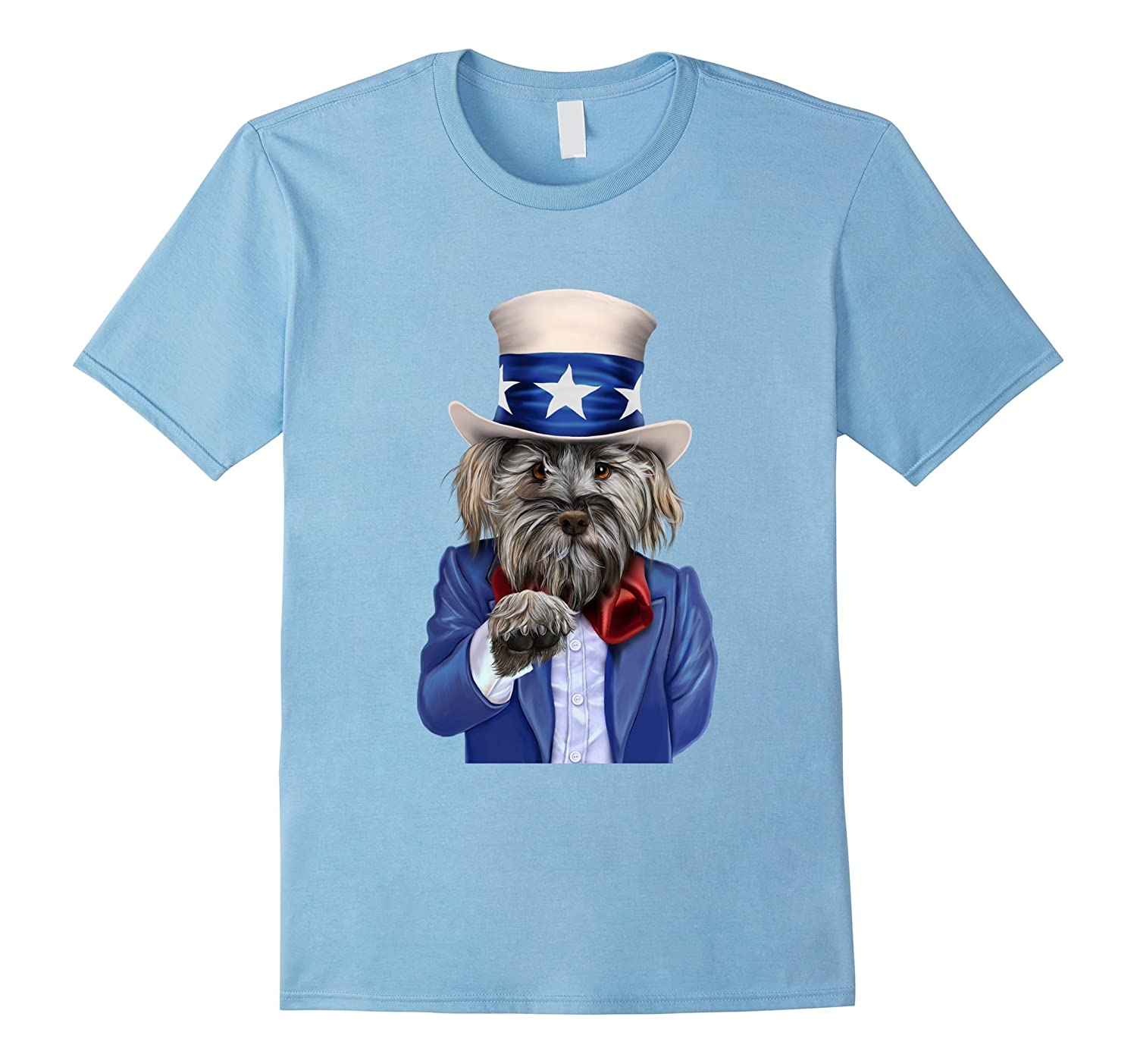 T-Shirt, Dog Impersonate Uncle Sam, Join US Army Recruit