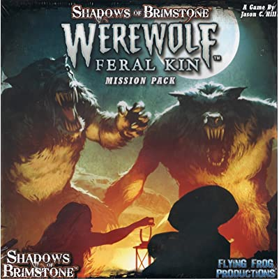 Flying Frog Productions FFP07MP05 Shadows of Brimstone: Werewolves-Mission Pack, Multicoloured: Toys & Games