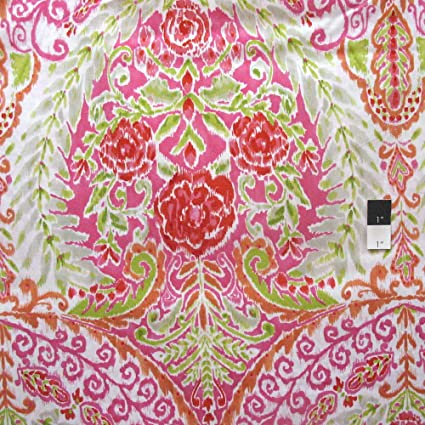 Dena Designs DF102 Kumari Garden Teja Pink Fabric By Yard
