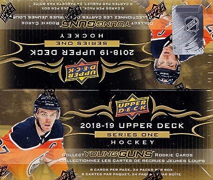 2018-19 UPPER DECK Hockey Series 2 Trading Cards Retail Box 24 Packs