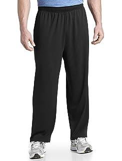 56b9844d6c1fc Amazon.com: Reebok Big and Tall Play Dry Knit Pants: Clothing