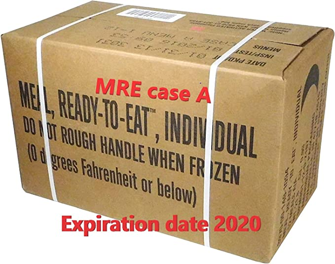 Military Type MRE MEALS READY TO EAT by MRE: Amazon.es: Deportes y aire libre