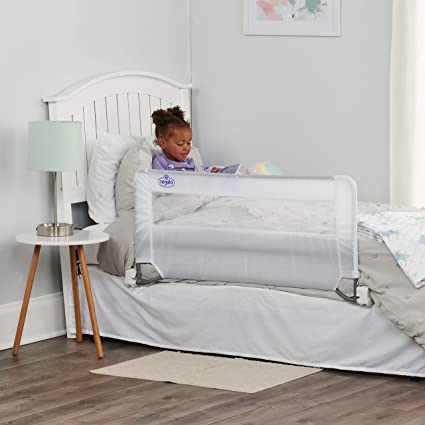 Amazon.com : Regalo Swing Down Bed Rail Guard, with Reinforced Anchor Safety System : Childrens Bed Safety Rails : Baby