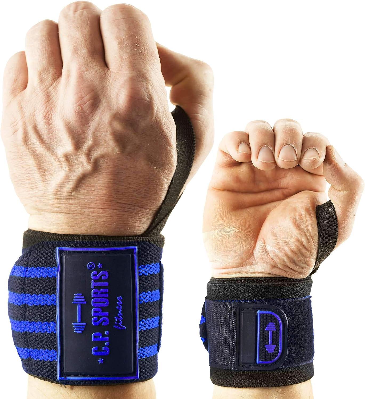 Straps Zughilfen 2Paar//4St/ück Premium Fitness Set f/ür Kraftsport 2 Jahre Gew/ährleistung Wrist Wraps Sports Handgelenk Bandagen Bodybuilding und Krafttraining C.P f/ür Frauen und M/änner