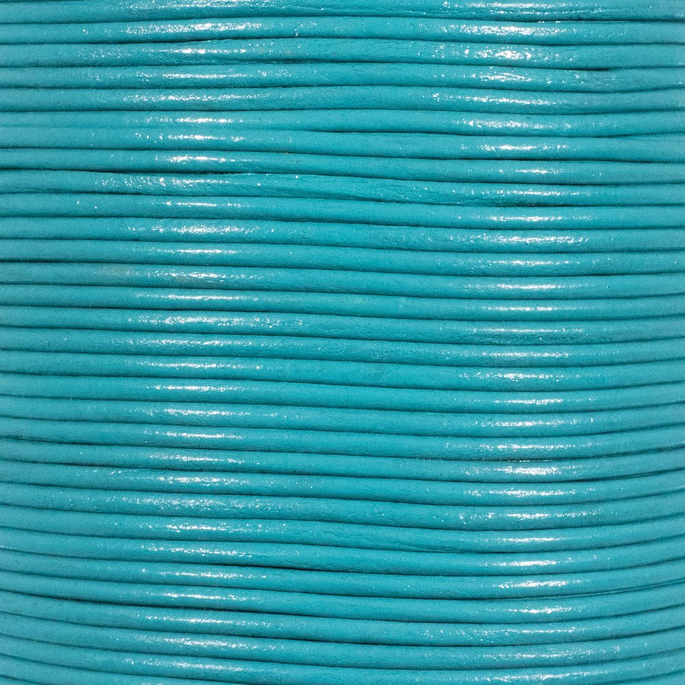Fern 10 Yards // 9.1 Meters 2mm Genuine Round Leather Cord Strips for Bracelets Necklaces Beading and Other Jewelry Making