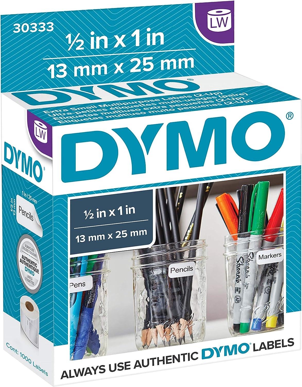 1 Roll 500 Medium Multipurpose Labels Permanent for DYMO LabelWriters 30336