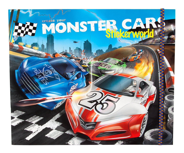 Monster Cars 6244 - Stickerworld by Monster Cars
