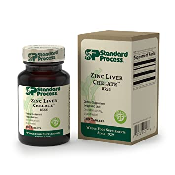 Amazon Com Standard Process Zinc Liver Chelate Zinc Supplement