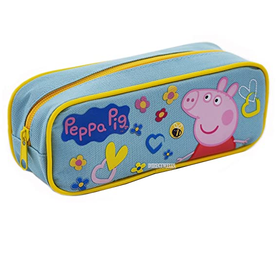 Amazon.com : Peppa Pig Authentic Licensed Pencil Case (Purple) : Office Products