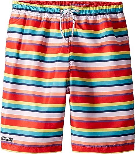 4423ea78dd Toobydoo Baby Boy's Multi Stripe Swim Shorts (Infant/Toddler/Little Kids/Big