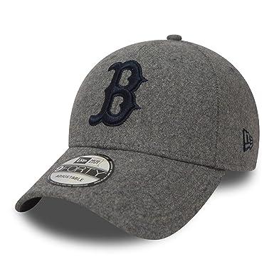A NEW ERA Gorra de béisbol 9FORTY Winter Utility Melton Boston Red Sox Gris - Ajustable: Amazon.es: Ropa y accesorios