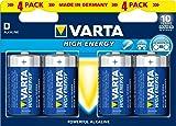 Varta High Energy D Batteries (Pack of 4)