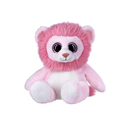 "Ganz 10"" Sweet Chums Lion Plush, Pink: Toys & Games"
